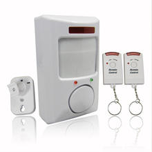 New Hot 106dB Wireless Alarm System for Home Door IR Infrared Remote Security System Motion Detector Alarm