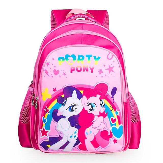 Новая мода мультфильм рюкзаки для подростков девочек my little pony рюкзак дети школьные ...