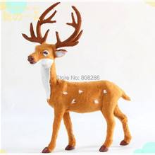 Christmas Tree Decoration Deer Flock Christmas Reindeer For Christmas Item Celebration Festival Ceremony Product(China (Mainland))