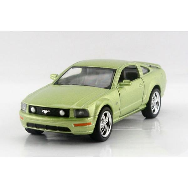 Children Kids Kinsmart 2006 Ford Mustang GT Model Car 1:36 KT5091 5inch Diecast Metal Alloy Cars Toy Pull Back Gift(China (Mainland))