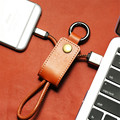 Leather Micro USB Cable 8 Pin Cable Fast Charging Charger Data 8Pin Cable for iPhone 5