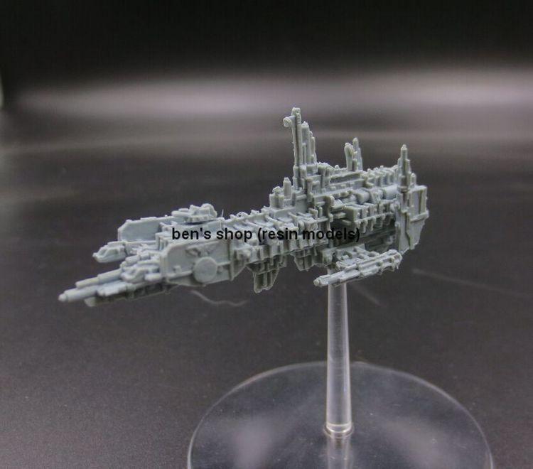 Out Of Print BFG Battlefleet Gothic STRIKE CRUISER Health Resin Kits Free Shipping DIY TOYS<br><br>Aliexpress