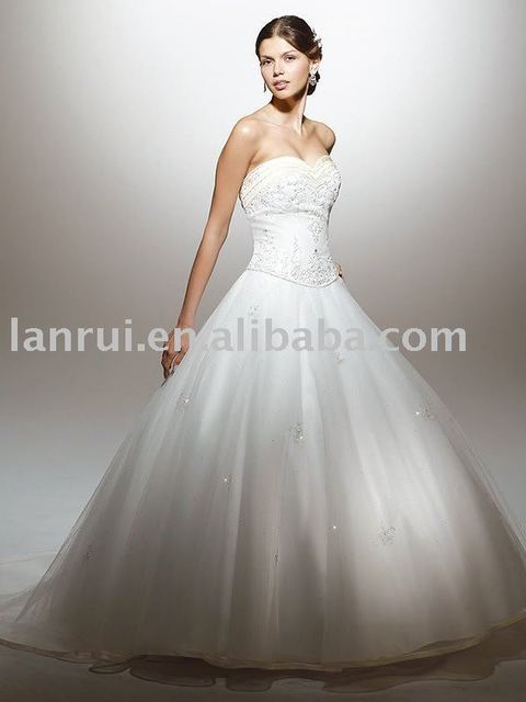 free shipping popular Wedding Gown