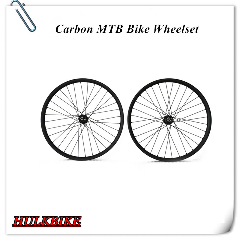 Carbon MTB Wheels 26er Chinese carbon wheels Hookless full carbon fiber Cycling MTB Wheelset Mountain bicycle wheelset<br><br>Aliexpress