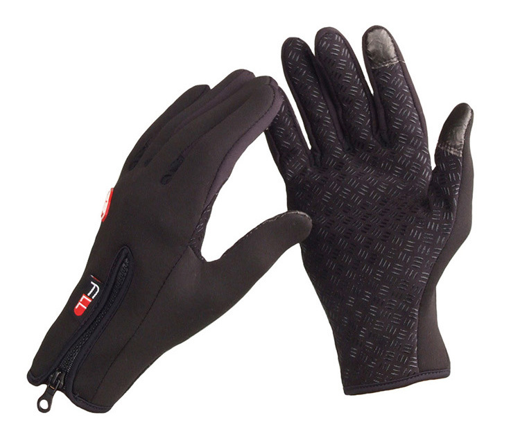 2015 Autumn Winter Cycling Gloves Motorcycle Racing Bike Non-slip fleece Full Finger bicycle Gloves Outdoor Sports Hiking Skiing(China (Mainland))