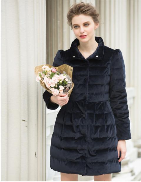2014 New Winter Women Coat European Stations Thick Warm Down Jacket  Long Female Overcoat Slim Fashion Parka Coat  Women JX017