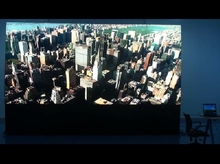 0 mm bezel lcd video wall made of 5x4 lg transparent bezel panel 55'' Full HD LCD video wall(China (Mainland))