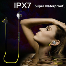 Morul U5 Plus IPX7 Waterproof Sport Earphone Magnetic Stereo Auriculares Wireless Earbuds Running Bluetooth Headset Microphone