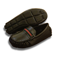 Genuine Leather Shoes Children Brand Slip On Good Quality Boys Kids Formal Moccasins Loafers Toddlers Flat