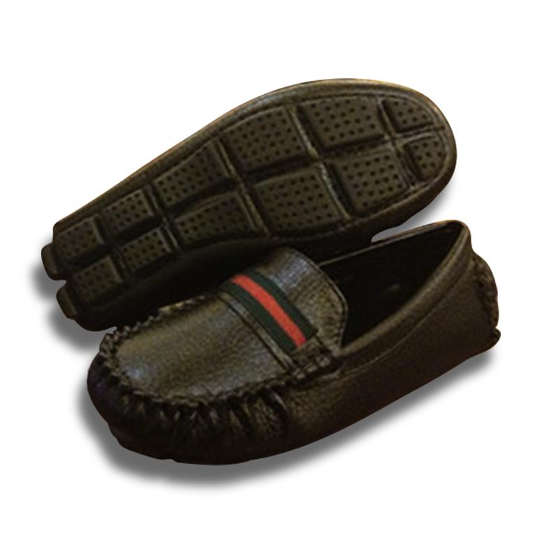 Genuine Leather Shoes Children Brand Slip On Good Quality font b Boys b font Kids Formal