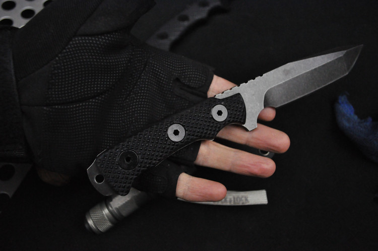 Buy PSRK matou2 knife high quality DC53 blade G10 handle outdoor camping survival tool hunting EDC tactical knives cheap