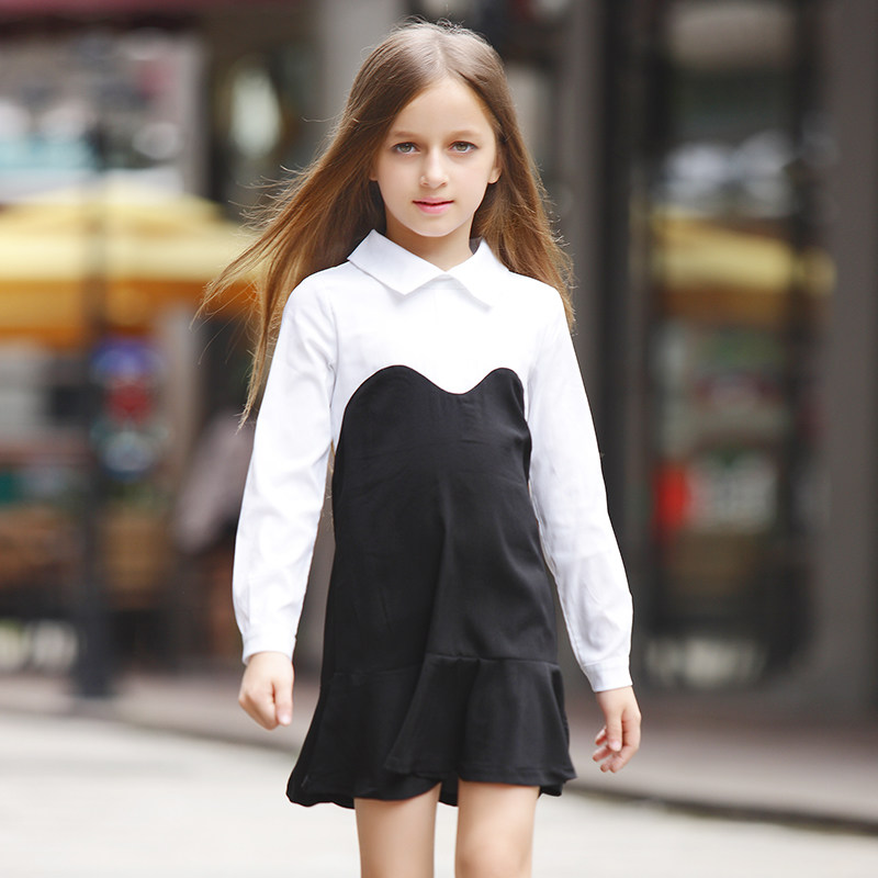 Elegant Girls Dress Casual Dress Kids White Dress For Girl Girls Boutique Clothing Wholesale Kids Clothes Girls Frock Designs