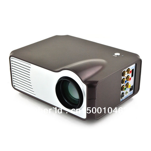 Mini projector micro home cinema hdtv portable pocket lcd for Micro mini projector