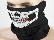 800pcs/lot Free Shipping Skull Design Multi Function Bandana Sport Motorcycle Biker Scarf Face Mask Sport mask(China (Mainland))
