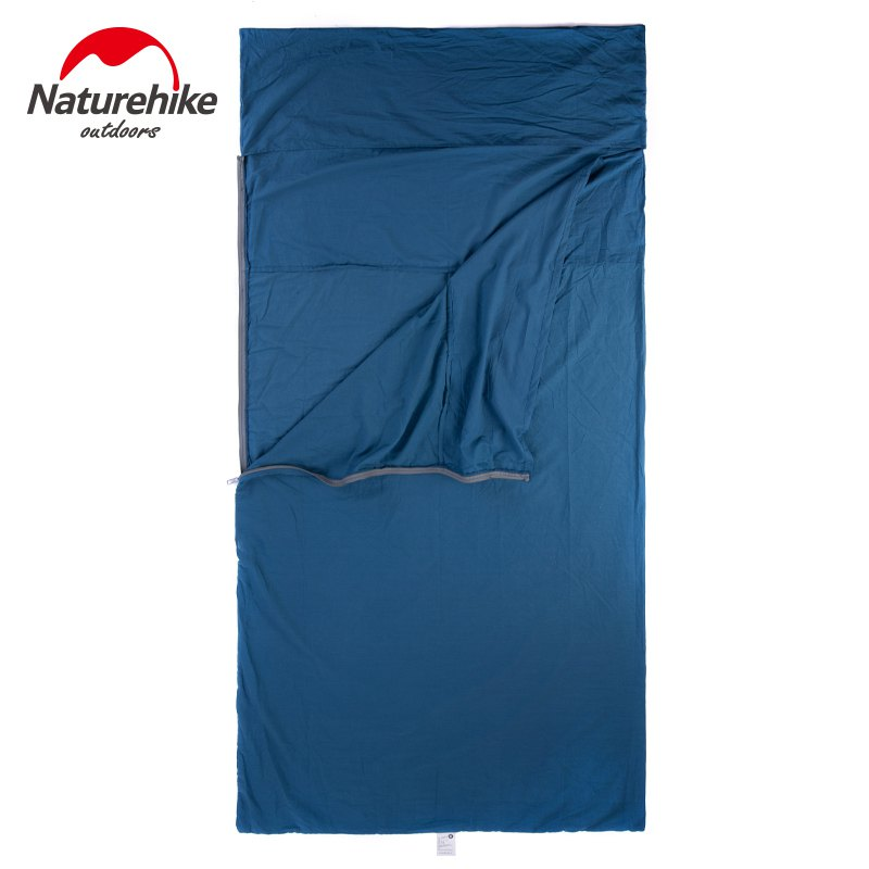 Naturehike-Portable-Ultra-light-Cotton-Widened-Outdoor-Liner-Sleeping-Bag-travelling-camping (2)