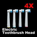 New Design 4pcs Electric Toothbrush Heads Replacement For Oral B Electric Adults Kids Tooth Brush New
