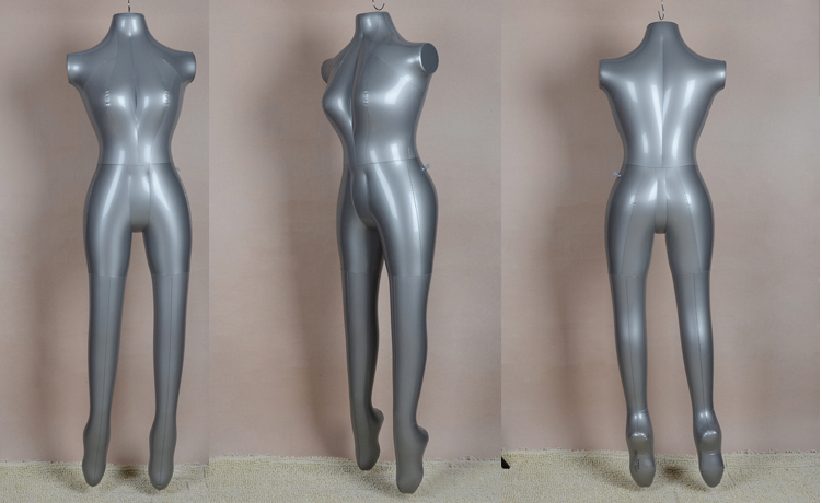 New Arrival Female Full Body Underwear Female Inflatable Mannequin Dummies Torso Model(China (Mainland))