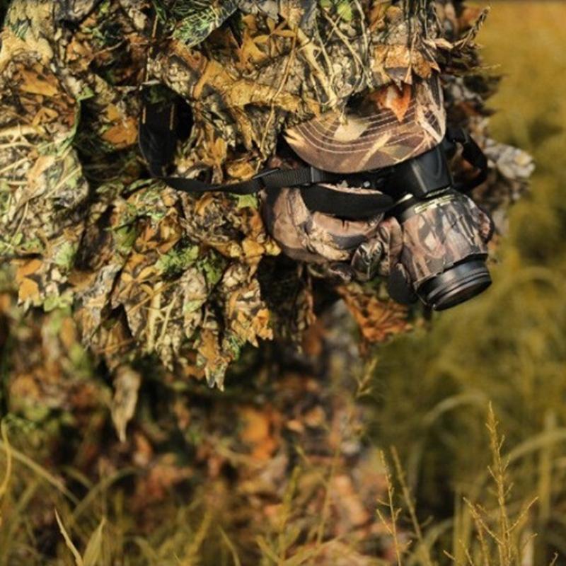 Здесь можно купить  NEW 2 Sets Military Hunting Tactical Camo 3D Leaf Birdwatching Clothes Camouflage Ghillie Bionic Training Bowhunting Suit   Спорт и развлечения