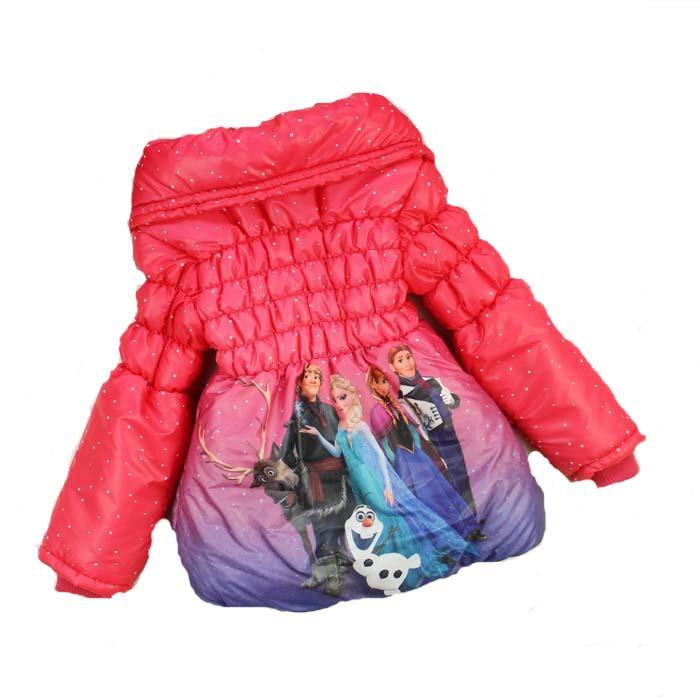 2015 kız Ceket Bebek Kış Uzun Kollu Sıcak Ceket Çocuklar Pamuk Dolgulu Giysiler Kızlar Dış Giyim çocuk kalınlaşmak coat Çocuklar Giyim