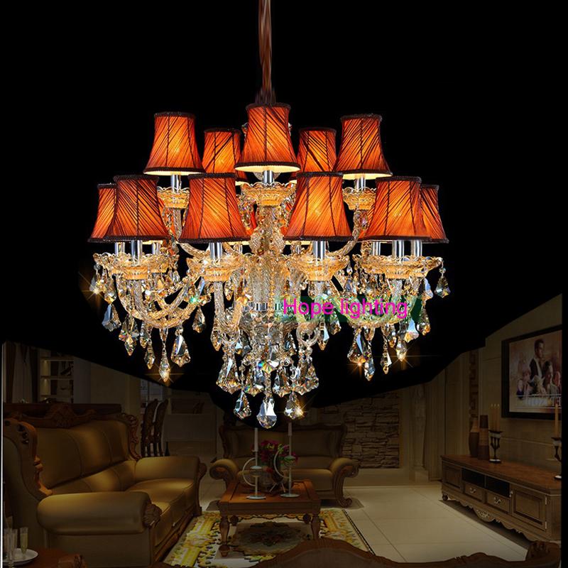 lampshade led bulb chandelier living room lights modern chandelier