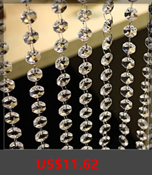 33-FT-Crystal-Clear-Acrylic-Bead-Garland-Chandelier-Hanging-For-Party-wedding-decoration-supplies-10M