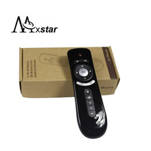 Gyroscope Mini Fly Air Mouse T2 2.4G Wireless 3D Remote Sensing Air Mouse 3D Sense Motion