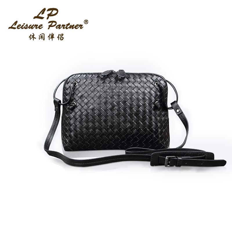 2016 Messenger Bags Patchwork Natural Sheepskin Women's Handbags Ladies Genuine Leather Shoulder Female Small Day Clutch Bolsas(China (Mainland))
