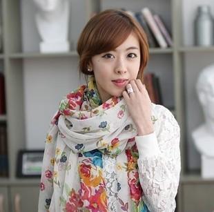 Free Shipping, Women Scarves,Leopard Pashmina, Chiffon Shawls, 14 Bohemia Styles(China (Mainland))