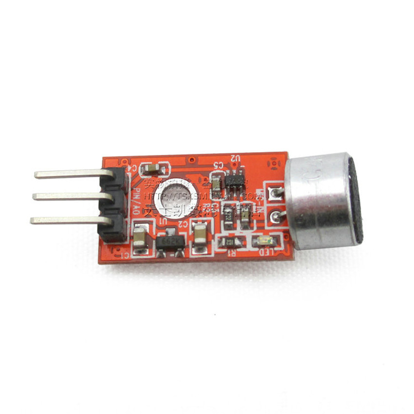 Voltage 3--5V lower price Mini Microphone Amplifier Module sound module MIC Module to the microphone voice moduleLOWER(China (Mainland))