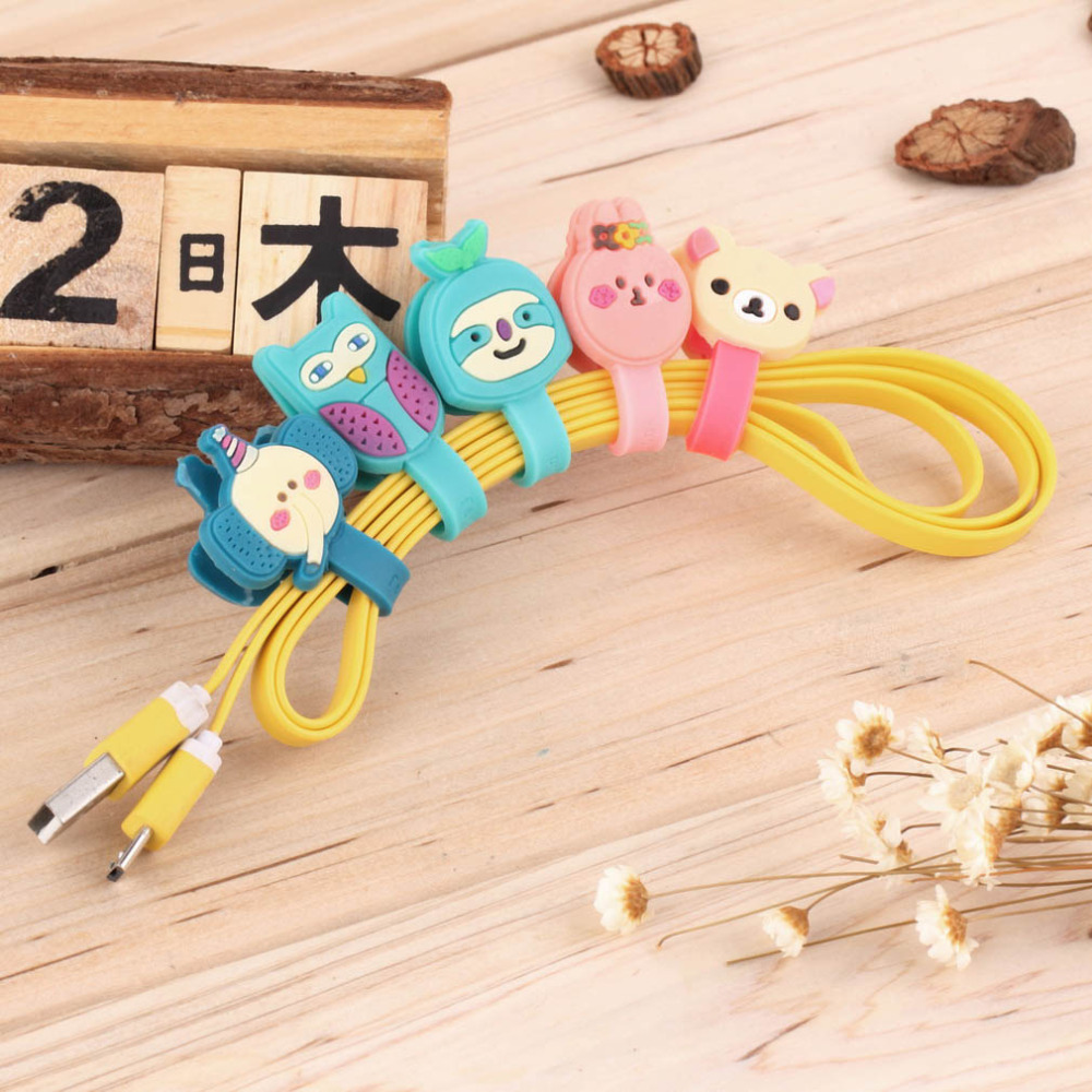 1 pcs Headphone Earphone Earbud Silicone Cable Cord Wrap Winder Organizer Holder for MP3 ,MP4 ,Mouse, Earphone ,Headphone etc(China (Mainland))