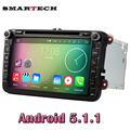VW Radio Android 5 1 Quad Core 1024 600 Car DVD Player Stereo Navi For VW