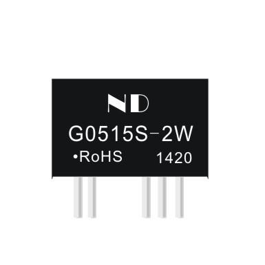 5pcs dc dc boost converter 5V to dual 15V 2w power module isolation 6kv dc-dc power supplies(China (Mainland))