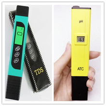 Buy Pocket Digital Pen Water PH Meter Tester 0.0-14.0 + TDS EC Water Filter Purity Pen Tester Aquarium Pool Water Laboratory for $11.75 in AliExpress store