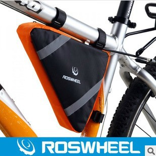 Unique Triangle Shaped Bicycle Front Frame Tube Bag, 2 colors available - GoodsUnion Retail Shop store