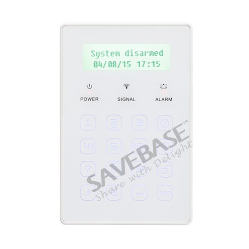 HOMSECUR Wireless Touch Password Keypad for Home Alarm System In our Store(China (Mainland))