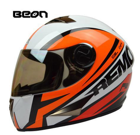 Free shipping Beon motorcycle helmets /off raod racing full face moto helmet / ECE Approved motociclistas capacete(China (Mainland))