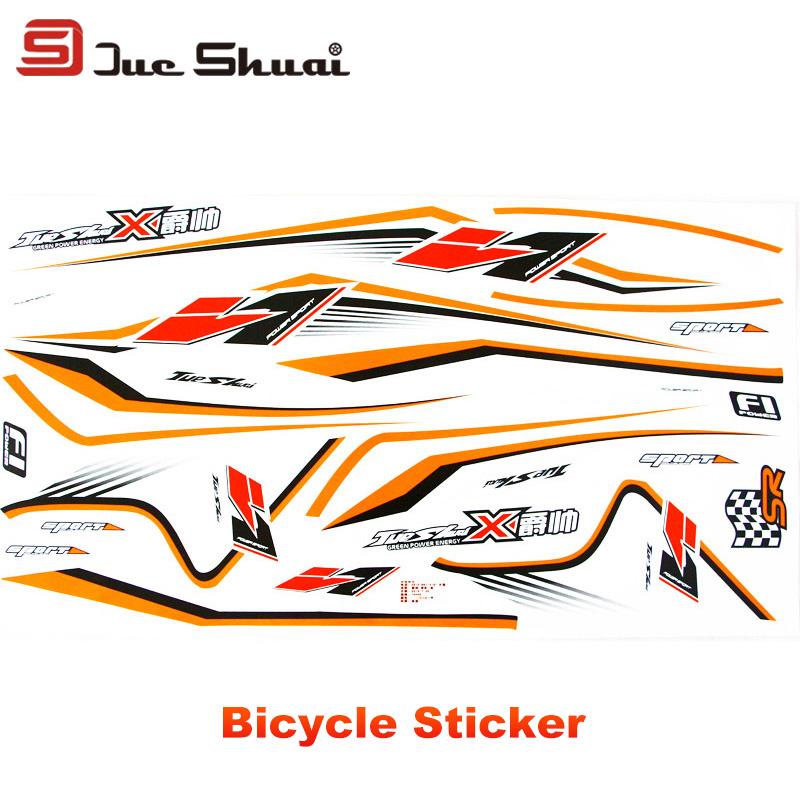 2016 Car Sticker Sport Road Mountain Bike Cycling Bicycle