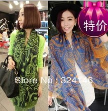 High quality fashion classic atifical scarf hot selling 2013 latest designer silk scarf for women(China (Mainland))