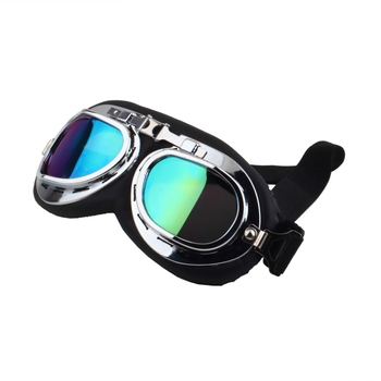 Motorcycle Glasses Scooter Goggles Pilot Ski Dirt Bike Cycling Lens Frame Goggles Motocross Glasses Sunglasses Off-Road Eyewear