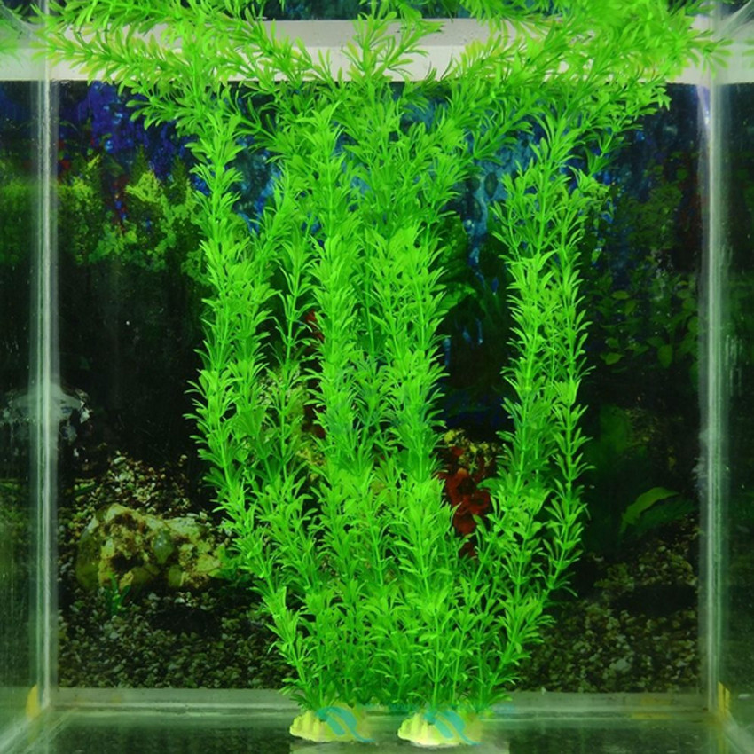 2016 30cm Underwater Artificial Plant Grass for Aquarium Fish Tank Landscape Decor(China (Mainland))
