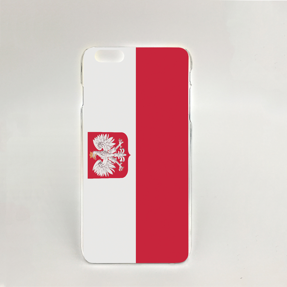 09336 for Poland National Flag NEW Hard transparent clear cell phone Cover Case for iPhone 4 4S 5 5S 5C 6 6S Plus 6SPlus(China (Mainland))