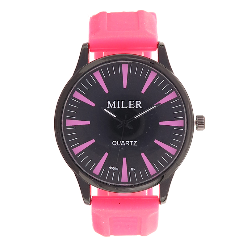 New Luxury Fashion Watch Women Color Jelly Silicone Strap Simple Cute Casual Wristwatch Students Elegant Clock Relogio Feminino(China (Mainland))