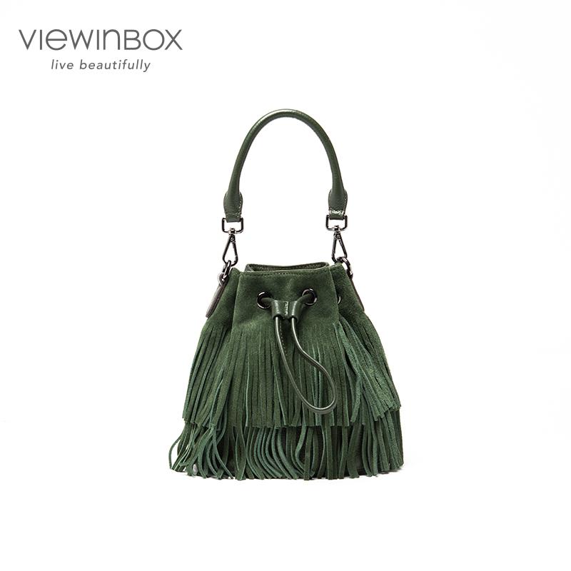 Viewinbox High quality Handbag Bag Tassel Shoulder bag Messenger Bag women bag<br><br>Aliexpress