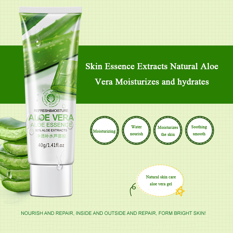 Depth Replenishment Natural Aloe Vera Gel Moisturizing Nourishing  Moisturizing Oil-control Skin Care Whitening Cream