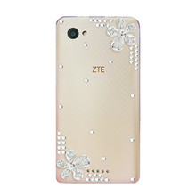 Buy Luxury 3D Rhinestone Bling Glitter Diamond DIY Phone Case ZTE Nubia Z9 NX508J 5.2'' Transparent Hard PC Clear Back Cover for $1.25 in AliExpress store