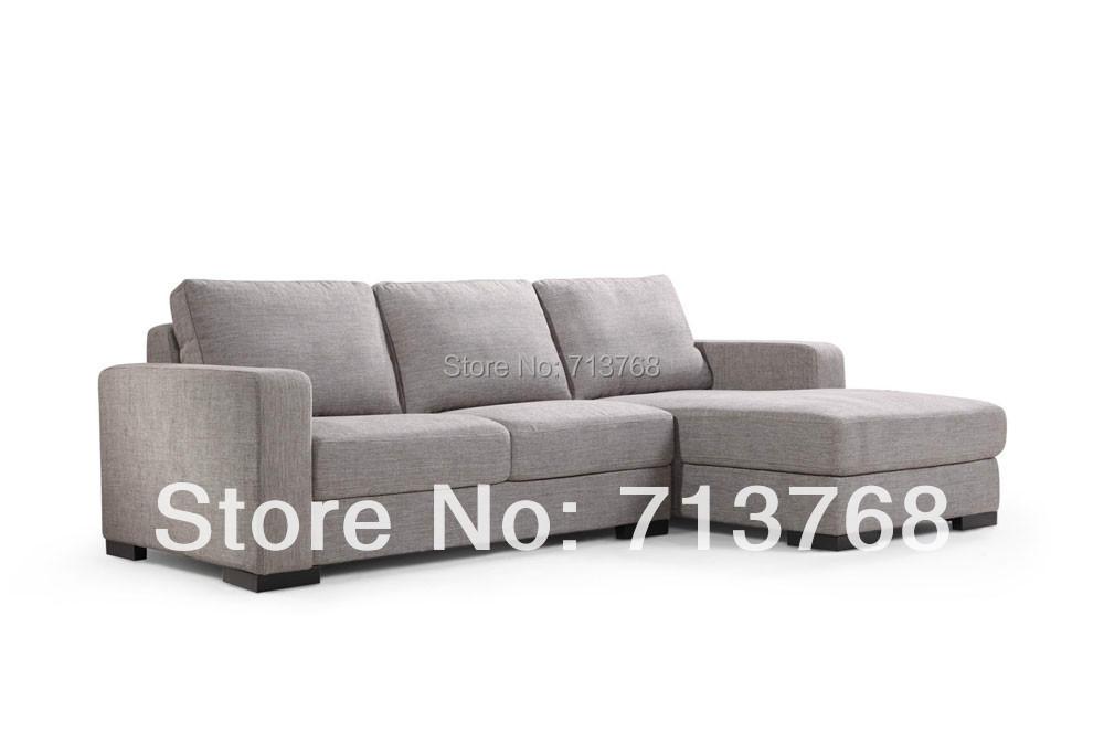 Modern polyester fabric sofa furniture /modul 2 pieces / corner lounge sofa MCNO462(China (Mainland))