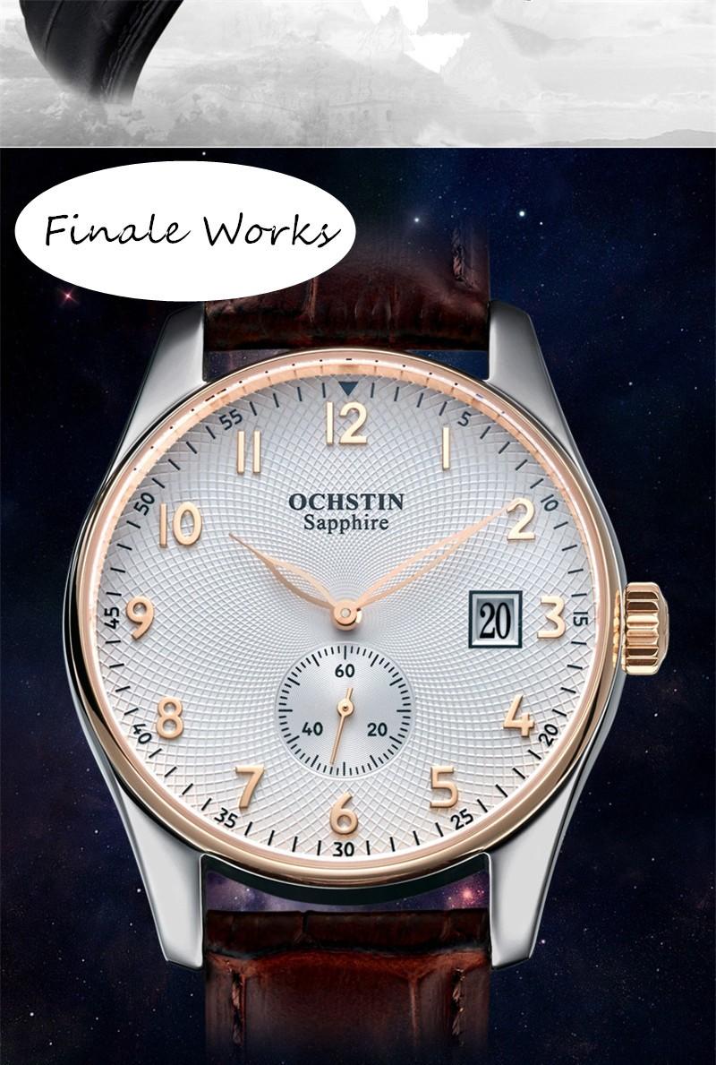 2016 Мода Ochstin Кварцевые Наручные Часы Мужчины Часы Известный Лучший Бренд Класса Люкс Военно Часы Спортивные Кварцевые часы Relogio Masculino