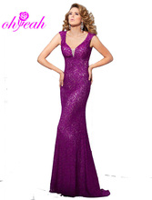 R80028 New fashion sleeveless elegant party dresses high quality solid color v-neck long dress new backless sexy woman dress