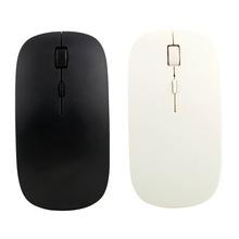 1pc Laptop Computer PC Ultra Thin 2.4GHz USB Wireless Mouse Optical Mice(China (Mainland))