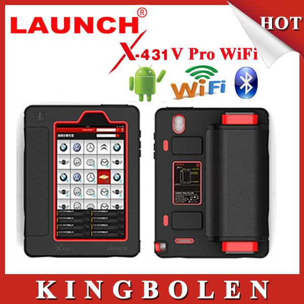 2015 New Released Globle Version Launch X431 V Euqal to Launch X431 Pro Free Update By Internet X-431 V Bluetooth/WiFi DHL Free(China (Mainland))